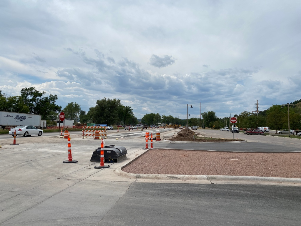 Omaha Street Reconstruction Paving Westbound Driving Lane 2020-08-19