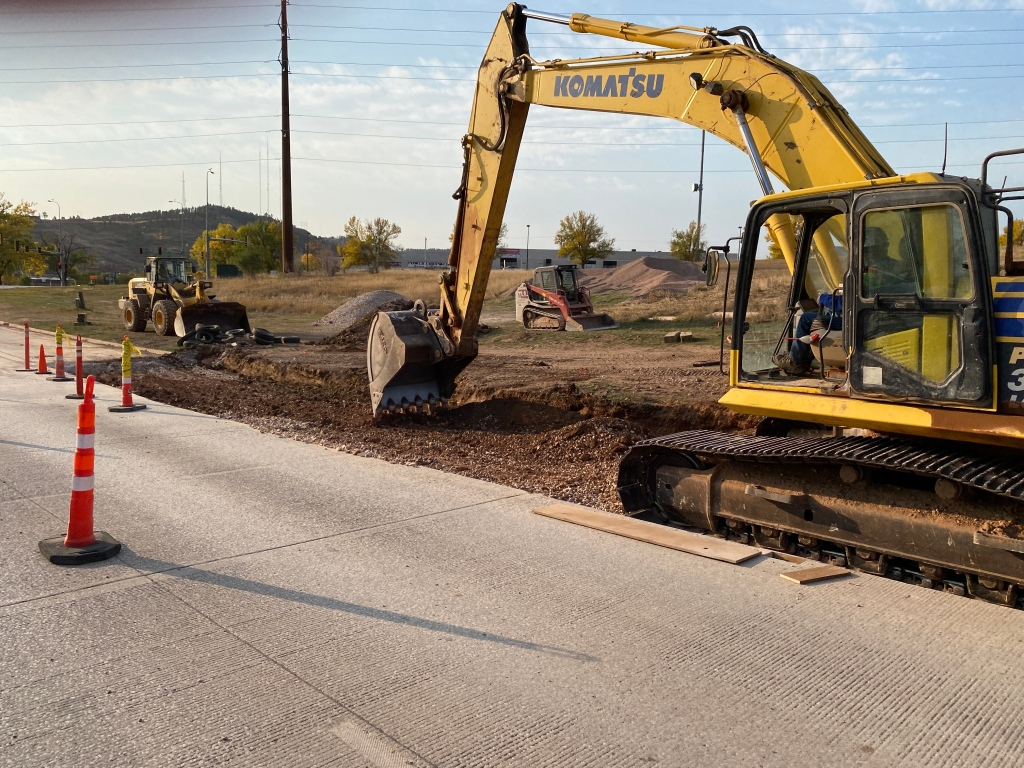 Deadwood Avenue Subgrade Preparation 2020-10-08