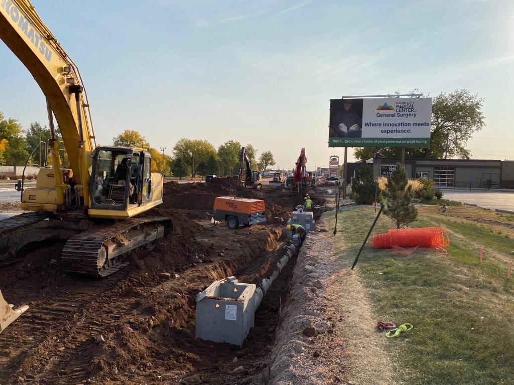 Omaha Street Storm Sewer Installation 2020-10-08