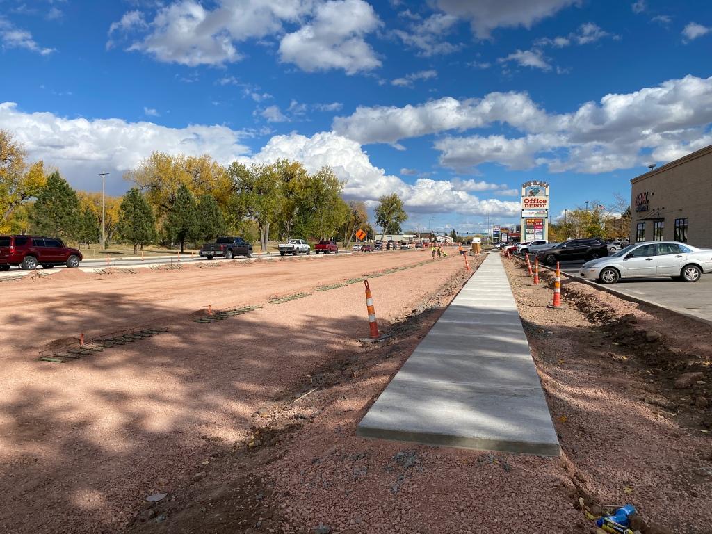 Preparing Omaha Street for Concrete Paving 2020-10-14